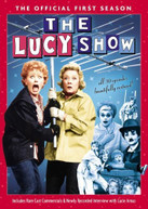 LUCY SHOW: OFFICIAL FIRST SEASON (4PC) DVD