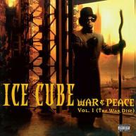 ICE CUBE - WAR & PEACE 1 (THE) (WAR) (DISC) VINYL