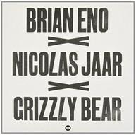 BRIAN ENO NICOLAS GRIZZLY BEAR JAAR - BRIAN ENO X NICOLAS JAAR X VINYL