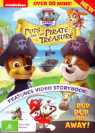 PAW PATROL: PUPS AND THE PIRATE TREASURE (2014) DVD