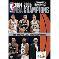 NBA CHAMPIONS 2005: SAN ANTONIO SPURS DVD