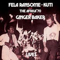 FELA KUTI - FELA LIVE WITH GINGER BAKER VINYL