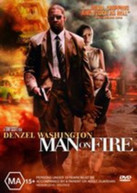 MAN ON FIRE (2004) - DVD