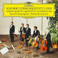 SCHUBERT EMERSON STRING QUARTET - STRING QUINTET IN C D956 (LTD) VINYL