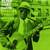 GARY DAVIS - HARLEM STREET SINGER VINYL