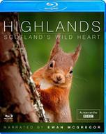 HIGHLANDS - SCOTLANDS WILD HEART (UK) BLU-RAY