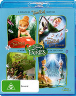 TINKER BELL  QUAD PACK (4 DISCS) (2012) BLURAY