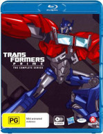 TRANSFORMERS: PRIME - THE COMPLETE SERIES BOXSET (2010) BLURAY