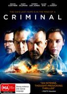 CRIMINAL (2016) (2016) DVD