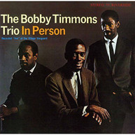 BOBBY TIMMONS - TRIO IN PERSON (IMPORT) CD