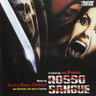 CARLO MARIA (IMPORT) CORDIO - ROSSO SANGUE / SOUNDTRACK (IMPORT) CD