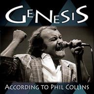 GENESIS - ACCORDING TO PHIL COLLINS CD
