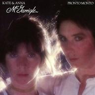 KATE MCGARRIGLE &  ANNA - PRONTO MONTO CD