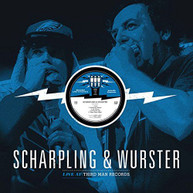 SCHARPLING &  WURSTER - LIVE AT THIRD MAN RECORDS VINYL