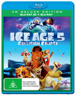 ICE AGE: COLLISION COURSE (3D BLU-RAY/BLU-RAY) (RENTAL) (2016) BLURAY