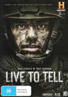 LIVE TO TELL (2015) DVD