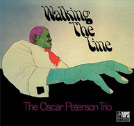 OSCAR TRIO PETERSON - WALKING THE LINE CD