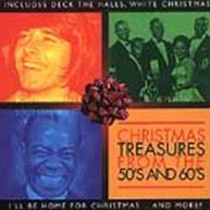 CHRISTMAS TREASURES FROM THE 50'S & 60'S / VARIOUS CD