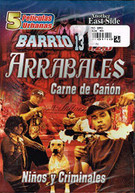 ARRABALES (5PC) DVD
