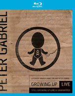 PETER GABRIEL - GROWING UP LIVE & UNWRAPPED + STILL GROWING UP LIV BLURAY