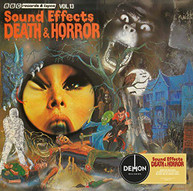 BBC SOUND EFFECTS 13: DEATH & HORROR / VARIOUS VINYL