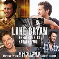 LUKE BRYAN - GREATEST HITS KARAOKE 1 CD