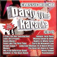 PARTY TYME KARAOKE: CLASSIC ROCK 1 / VARIOUS CD