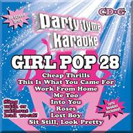 PARTY TYME KARAOKE: GIRL POP 28 / VARIOUS CD