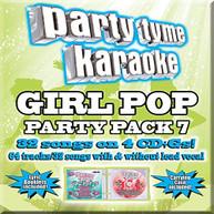 PARTY TYME KARAOKE: GIRL POP PARTY PACK 7 / VAR CD