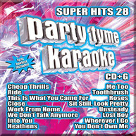 PARTY TYME KARAOKE: SUPER HITS 28 / VARIOUS CD