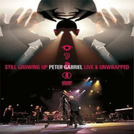 PETER GABRIEL - STILL GROWING UP LIVE & UNWRAPPED (UK) DVD
