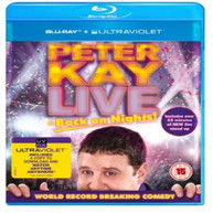 PETER KAY - LIVE BACK ON NIGHTS BLURAY