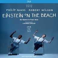 GLASS /  SILVERMAN / DAVIS / MORAN - GLASS & WILSON: EINSTEIN ON THE BLURAY