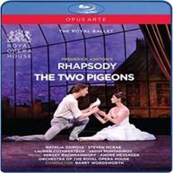 RACHMANINOFF /  OSIPOVA / MCRAE - ASHTON: RHAPSODY / TWO PIGEONS BLURAY