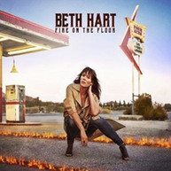 BETH HART - FIRE ON THE FLOOR (UK) CD