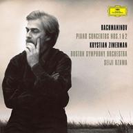 RACHMANINOV / KRYSTIAN  ZIMERMAN - RACHMANINOV: PIANO CONCERTOS 1 & 2 VINYL