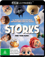 STORKS (4K UHD/BLU-RAY/UV) BLURAY