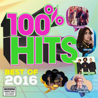 VARIOUS ARTISTS - 100% HITS BEST OF 2016 - CD