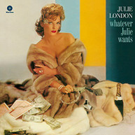 JULIE LONDON - WHATEVER JULIE WANTS (180GM) VINYL