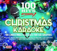 100 HITS: PRESENTS CHRISTMAS KARAOKE / VARIOUS CD