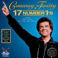 CONWAY TWITTY - 17 NUMBER 1S CD
