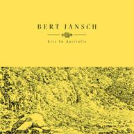 BERT JANSCH - LIVE IN AUSTRALIA VINYL