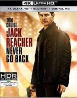 JACK REACHER: NEVER GO BACK - JACK REACHER: NEVER GO BACK 4K BLURAY