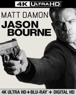 JASON BOURNE - JASON BOURNE (+BLURAY) (4K) (2 PACK) 4K BLURAY