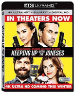 KEEPING UP WITH THE JONESES - KEEPING UP WITH THE JONESES (4K) 4K BLURAY