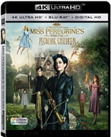 MISS PEREGRINE'S HOME FOR PECULIAR CHILDREN - MISS PEREGRINE'S 4K BLURAY