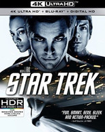 STAR TREK XI (3 PACK) (WS) 4K BLURAY