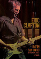 ERIC CLAPTON - LIVE IN SAN DIEGO (WITH) (SPECIAL) (GUEST) (JJ) BLURAY