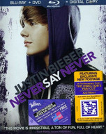 JUSTIN BIEBER: NEVER SAY NEVER (2PC) (+DVD) BLURAY
