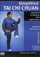 SIMPLIFIED TAI CHI CHUAN WITH APPLICATIONS DVD